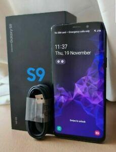 Samsung Galaxy S9 SM-G960F - 64GB - Black  Smartphone (Unlocked)