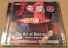 Doctor Who - The Art Of Destruction Audio Book 2 x Cd  2006  Don Warrington