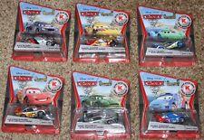 6 Disney Cars Kmart Silver Racer Series Lightning Carla Raoul Miguel Max Nigel