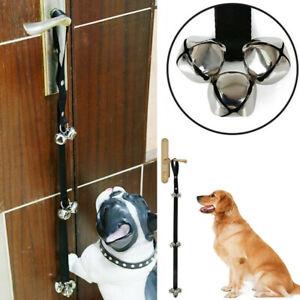 Pet Dog Potty Training Door Bells Rope House training Housebreaking Anti Lost