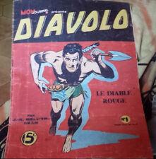 C1 DIAVOLO  # 1 1948 Mon Journal  LE DIABLE ROUGE Besseyrias Guy LEBRUN