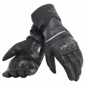 Dainese Universe Gore-Tex Mens Motorcycle Black Leather Textile Gloves 2XL