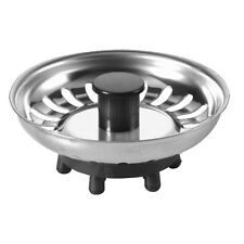 McAlpine Basket Strainer Kitchen Sink Plug | Rubber Finger Type | BSKTOP