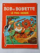 BOB ET BOBETTE n° 75 LE MINI MONDE   ( EAUBO )  réédition