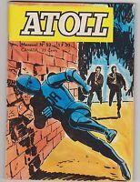 ATOLL n°52 - Archie le robot. 1971. petit format en TBE