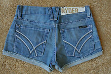 JUSTIN T WILLIAM RAST RARE RYDER SEXY SHORT Shorts 23 NWT$195 Distressed! Frayed