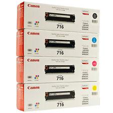 4x Original TONER CANON LBP5050 N MF8030CN MF8040CN MF8050CN MF8080CW i-SENSYS