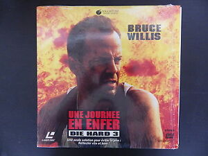 Laserdiscs, Die Hard 3 A Day IN Hell, Very Good Condition Complete