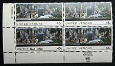 NATIONS-UNIS (new-york) timbre / stamp Yvert et Tellier n°542 x4 n** (Cyn13)