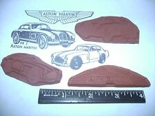 Classic Aston Martin RUBBER STAMPS Set of 3 - Wings, DB2, DB2/4 - Unmounted, db3
