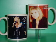 BARBRA STREISAND - with 2 Photos - Designer Collectible GIFT Mug