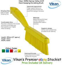 Vikan Pro recouvert de tissu tapis brosse Slim Stiff Poil jaune 41956