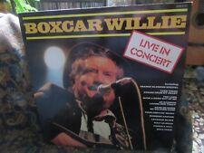 "Boxcar Willie, ""Live in Concert"" (UK Vinyl LP-SHM 3137)"