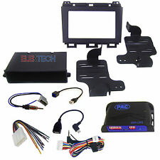 Radio Replacement Dash Kit 1 or 2-DIN w/Pocket/Harness/Steering Controls/USB