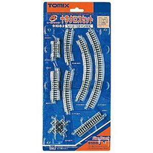 TOMIX N gauge Mini Rail Set MX Pattern 91083 Railway Train Track Set