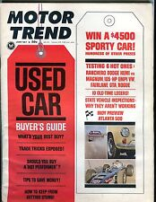 Motor Trend Magazine June 1967 Buyer's Guide EX No ML 011017jhe