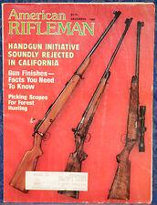 Vintage Magazine American Rifleman DECEMBER 1982 !HECKLER & KOCH 270 .22 RIFLE!