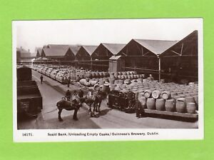 Scald Bank Guinness Brewery Dublin Advertising Heavy Horses RP pc Hunt Ref D531