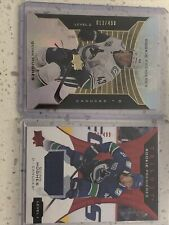 2019-20 UD Trilogy QUINN HUGHES Rookie Premieres LEVEL 2 + Jersey Relic Lot