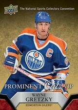 Wayne Gretzky 2014/15 2015 Upper Deck UD national convention VIP prominent cuts