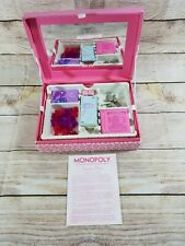 Monopoly Boutique Edition Replacement Pieces 2007 Jewelry Keepsake Box PINK