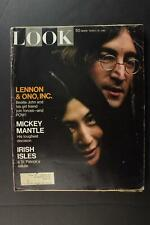 LOT: FOUR 1960s BEATLES RELATED LARGE FORMAT MAGAZINES~LOWER GRADE ISSUES