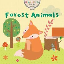 Crinkle Cloth Bks.: Woodland Animals by Small World Creations (2016, Paperback)