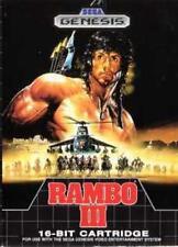 Rambo III 3 - Sega Genesis Game Only