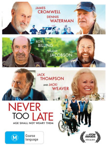 Never Too Late (DVD, 2021)