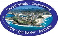 Panoramic Bumper Sticker of Coolangatta Tweed Heads, Australia