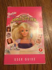 Barbie Software For Girls Magic Hair Styler User Guide Ships N 24h
