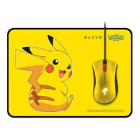 NEW Razer Pokemon Limited Edition Pikachu Wired Gaming Mouse Edition + Mice Pad