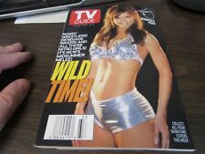 VINTAGE - TV GUIDE AUG 14TH 1999 - WCW'S MIDSUMMER MELEE - KIMBERLY PAGE - COVER