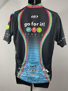 Louis Garneau XL Go For It Sports Cyclery Cycling Jersey m15