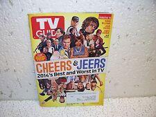 TV Guide Magazine December 22 2014 Cheers & Jeers Best & Worst of '14