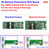 2S 20A 7.4V w/Balance Lithium Li-ion 18650 Battery BMS Pack Protection PCB Board