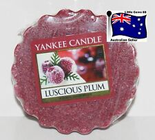 YANKEE CANDLE Tart Melt ** Luscious Plum ** FREE Postage for ADDITIONAL TARTS