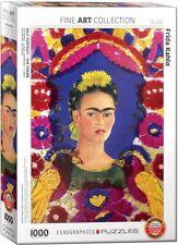 Frida Kahlo Self Portrait 1000 piece jigsaw puzzle 680mm x 490mm (pz)