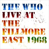 The Who - Live at the Fillmore East 6th April 1968 - New 2CD - Pre Order 20/4