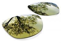 Lentes SURE de Recambio Polarizada para Oakley Frogskins ( Gold 24k )