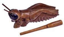 Klangzikade Klang Zikade Klangtier Holz Tier Musik Percussion Instrument