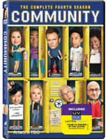 Community Season 4 Four DVD NEW Chevy Chase Gift Idea TV Show OFFICIAL NEW
