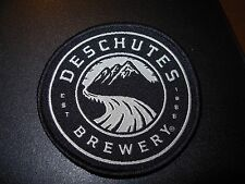 DESCHUTES BREWERY Oregon Circle LOGO PATCH iron on craft beer brewery brewing