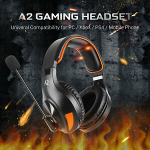 Sades A2 Gaming Headset Wired Headphone 3.5mm With 120 ° Adjustable Microphone S