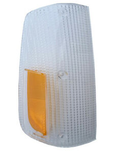 VOLVO 240 260 1975-1985 FRONT RIGHT TURN SIGNAL LAMP LIGHT LENS