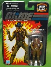 G I GI JOE 25TH ANNIVERSARY HELICOPTER PILOT WILD BILL FIGURE MOC