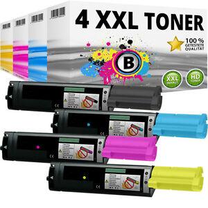 4x XXL Toner Patronen kompatibel Epson Aculaser C1100N CX11N CX11NF CX11NFC SET