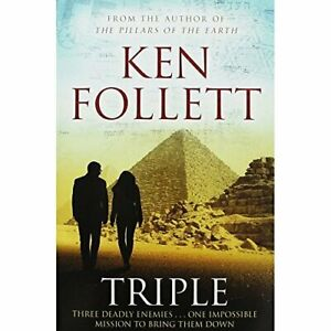 Triple by Follett, Ken Book The Cheap Fast Free Post