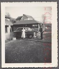 Vintage Car Photo 1950 Dodge Automobile at Ma & Pas House 764129