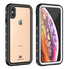 For Apple iPhone Xs Max Clear Back Slim Case Waterproof Underwater Dirtproof fre